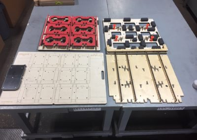 0828 - upper and lower blanking set with BSI frame